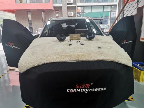 马自达CX-5摒弃原车音响的糙 追求改装升级的美【重庆车改坊案例分享】
