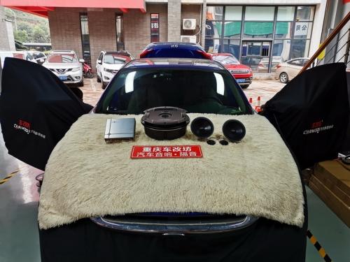 【重庆车改坊案例分享】本田思域汽车音响改装伊顿二分频喇叭