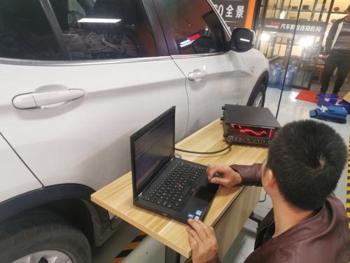 X3车主改装重庆车改坊热门推荐套装喇叭:伊顿宝马专车专用三分频