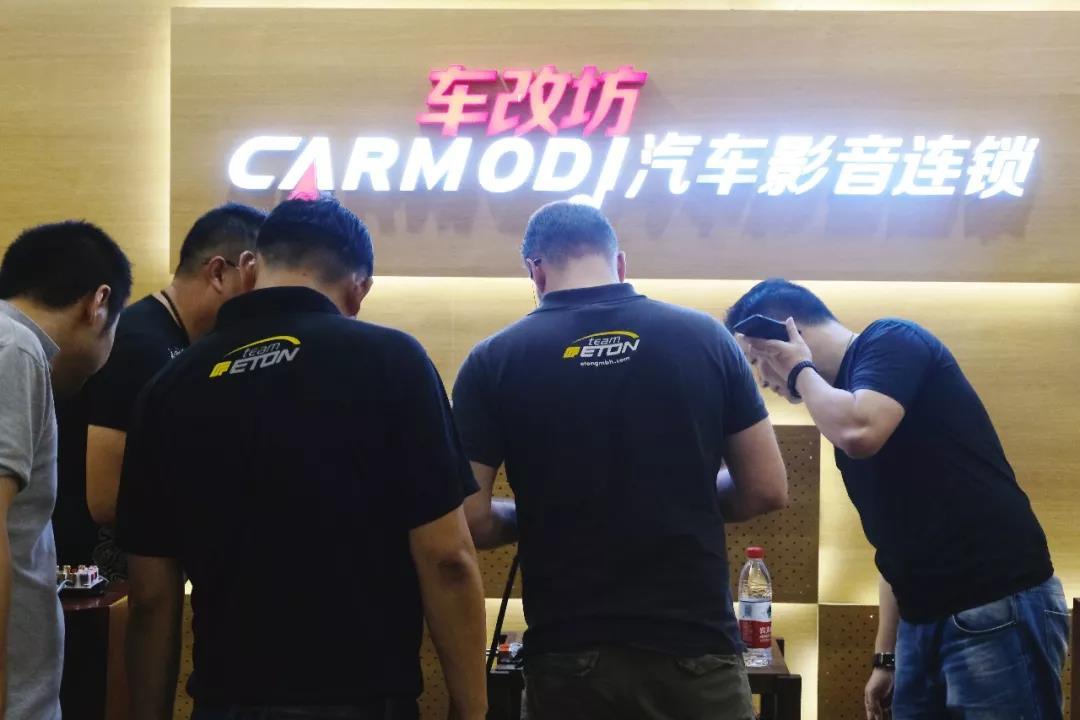 德国ETON技术总监多米尼克中国八天调音活动,第一站广州
